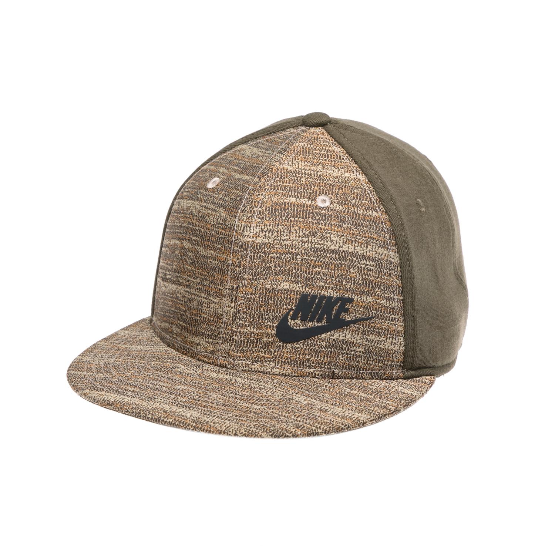 NIKE - Καπέλο NIKE χακί γυναικεία αξεσουάρ καπέλα αθλητικά