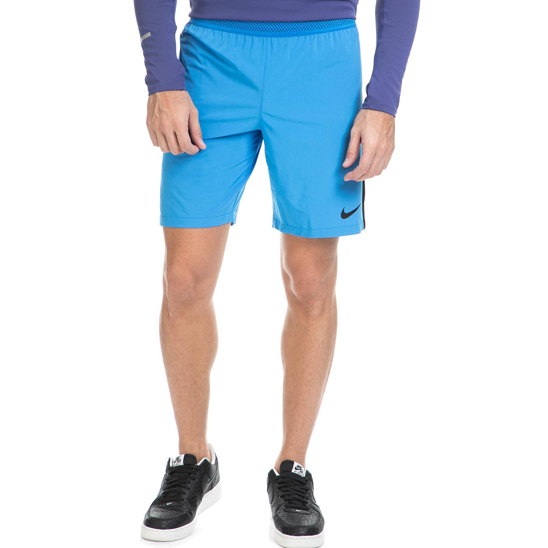NIKE - Ανδρικό αθλητικό σορτς NΙKΕ FLX STRKE SHORT μπλε ανδρικά ρούχα σορτς βερμούδες αθλητικά