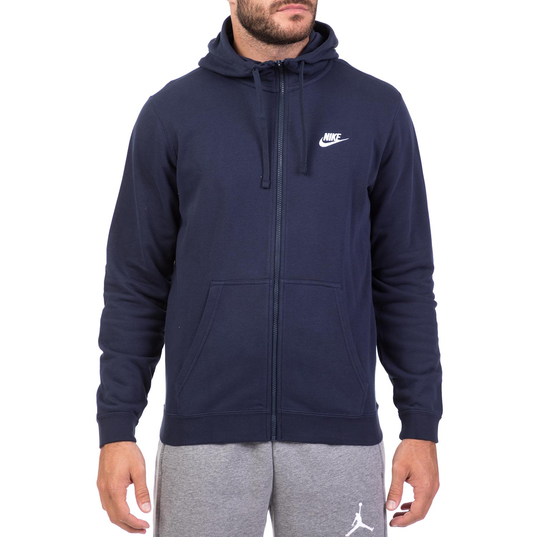 071e2b827e82 NIKE - Ανδρική ζακέτα με κουκούλα Nike Sportswear μπλε