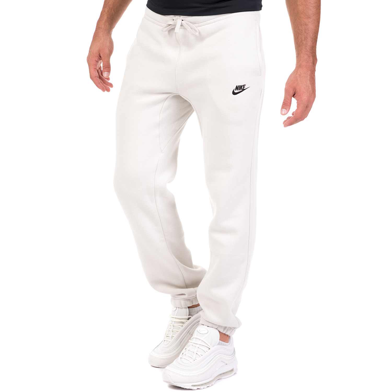 4ad4a0053d NIKE - Ανδρικό παντελόνι φόρμας Nike Sportswear CLUB PANT CF BB εκρού