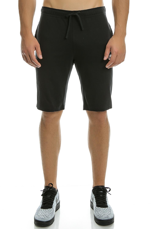 NIKE - Ανδρικό σορτς NIke SW CLUB SHORT JSY μαύρο ανδρικά ρούχα σορτς βερμούδες αθλητικά
