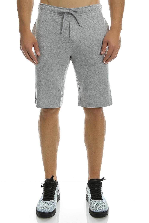 NIKE - Ανδρικό σορτς Nike SW SHORT JSY CLUB γκρι ανδρικά ρούχα σορτς βερμούδες αθλητικά