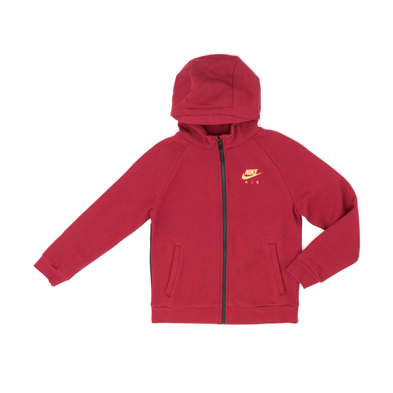 NIKE - Παιδική ζακέτα NIKE κόκκινη παιδικά boys ρούχα αθλητικά