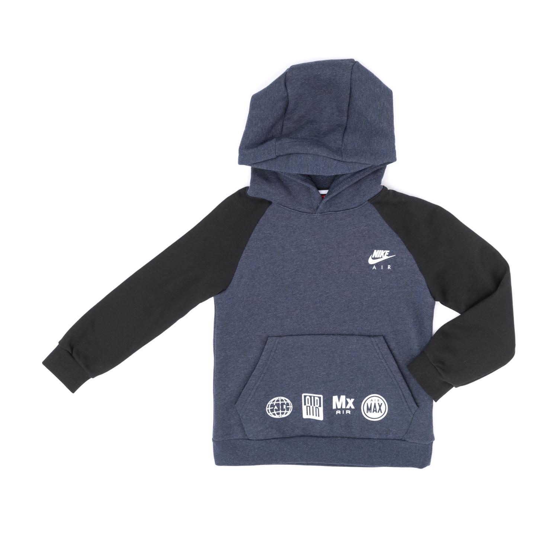 dd5fab826a7 NIKE – Παιδικό φούτερ NIKE μαύρο-μπλε – Online Ρούχα