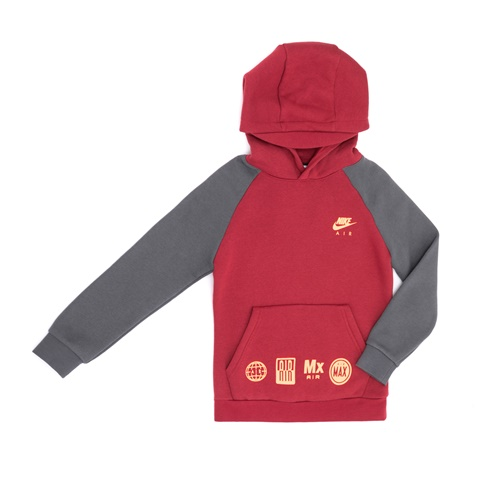e5428ca0a8c Παιδικό φούτερ NIKE γκρι-κόκκινο (1469394.1-4180)   Factory Outlet