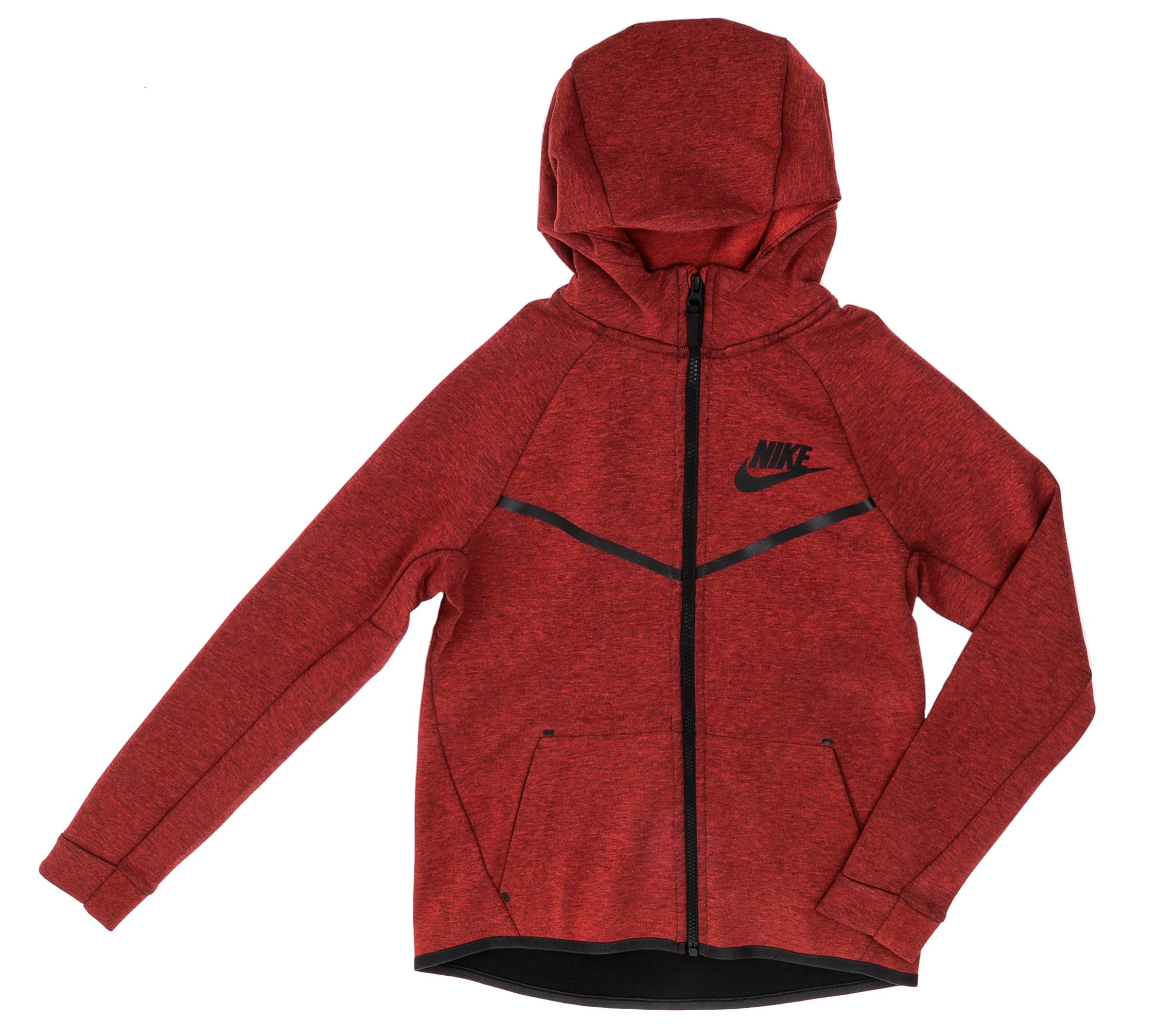 NIKE - Αγορίστικη ζακέτα Nike κόκκινη παιδικά boys ρούχα αθλητικά