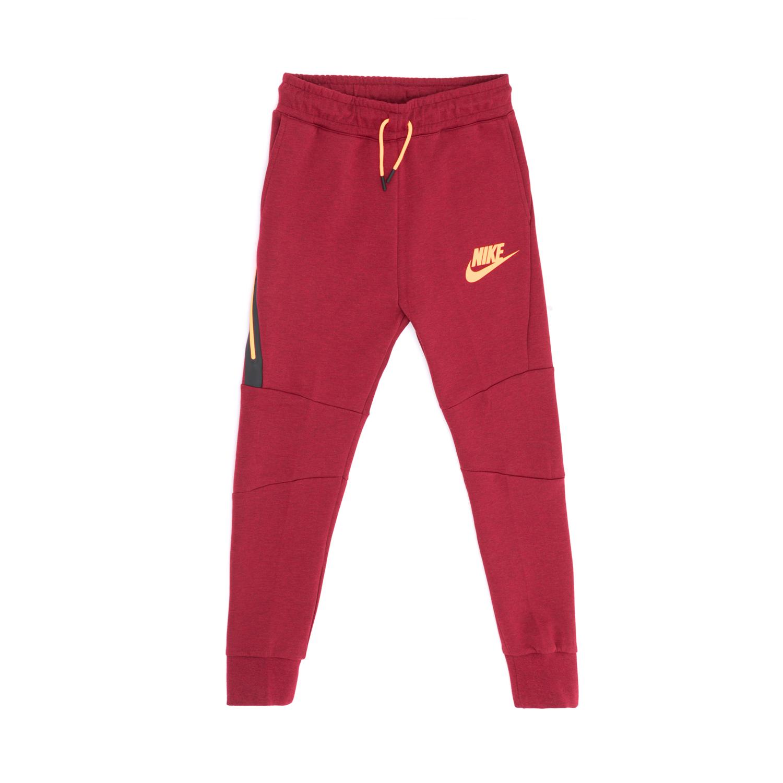 NIKE - Παιδική φόρμα NIKE κόκκινη παιδικά boys ρούχα αθλητικά