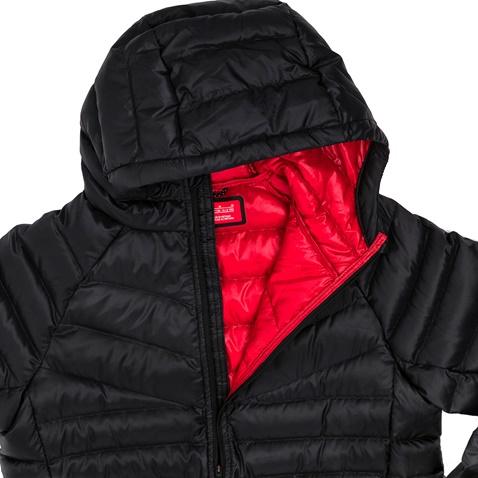 19a1607f1cc Αγορίστικο μακρυμάνικο μπουφάν Nike μαύρο (1469411.1-71u7) | Factory Outlet