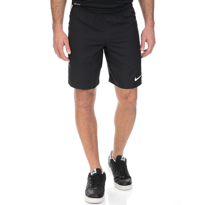 NIKE - Ανδρικό αθλητικό σορτς NΙKΕ DRY SHORT SQD μαύρο ανδρικά ρούχα σορτς βερμούδες αθλητικά