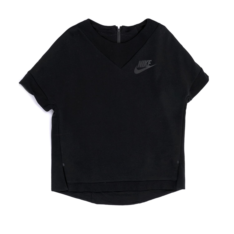 NIKE - Παιδική μπλούζα NIKE μαύρη παιδικά girls ρούχα αθλητικά