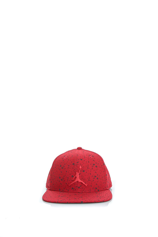 NIKE - Unisex καπέλο Nike JORDAN SPECKLE PRINT SNAPBACK κόκκινο γυναικεία αξεσουάρ καπέλα αθλητικά