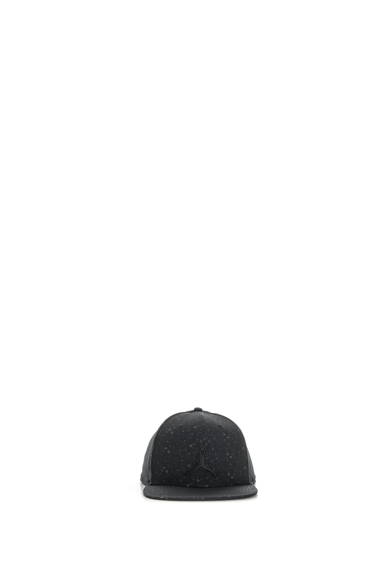 NIKE - Unisex καπέλο Nike JORDAN SPECKLE PRINT SNAPBACK μαύρο γυναικεία αξεσουάρ καπέλα αθλητικά