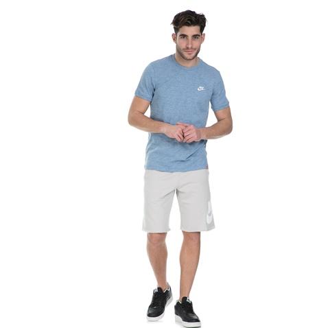 NIKE-Ανδρική κοντομάνικη μπούζα Nike NSW LEGACY TOP KNT γαλάζια