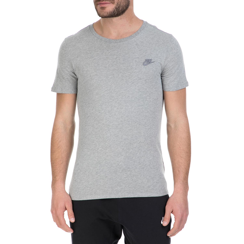 NIKE - Κοντομάνικη μπλούζα Nike γκρι ef8ea61eda6
