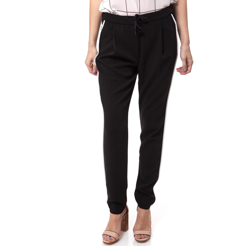 CALVIN KLEIN JEANS - Γυναικείο παντελόνι Calvin Klein Jeans μαύρο γυναικεία ρούχα παντελόνια ισια γραμμή