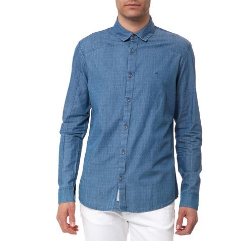 616f4c721b Ανδρικό πουκάμισο Calvin Klein Jeans μπλε (1470114.0-0202)