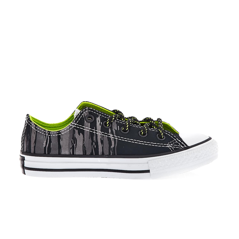 CONVERSE - Παιδικά παπούτσια Chuck Taylor All Star Ox μαύρα-ανθρακί παιδικά boys παπούτσια sneakers
