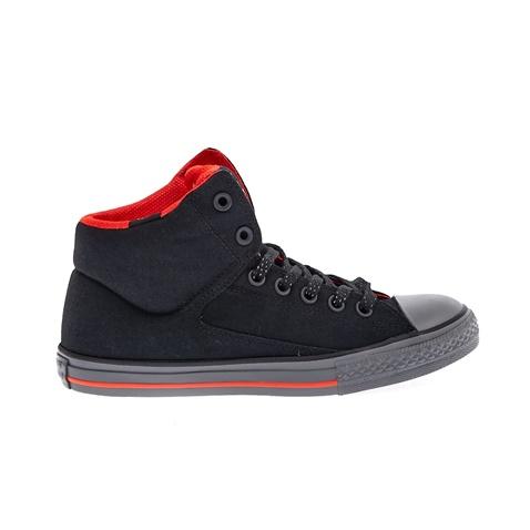 Παιδικά παπούτσια Chuck Taylor All Star High Str μαύρα - CONVERSE  (1470755.0-7141)  ba0f2fb5071
