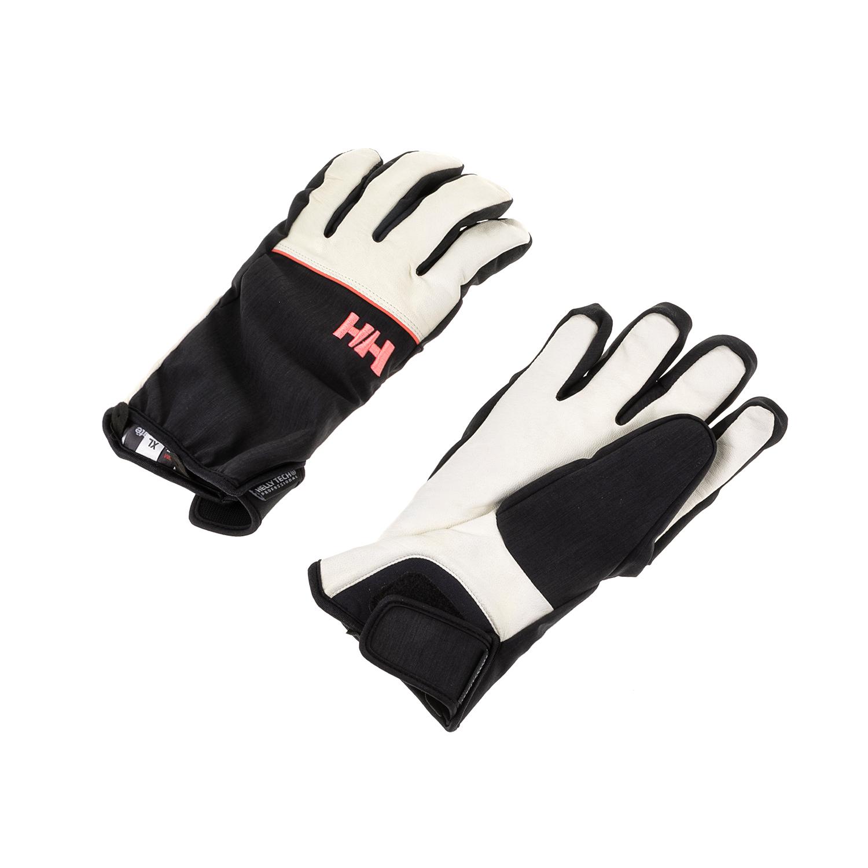 HELLY HANSEN - Γυναικεία γάντια QUEST HT μαύρα-λευκά γυναικεία αξεσουάρ φουλάρια κασκόλ γάντια