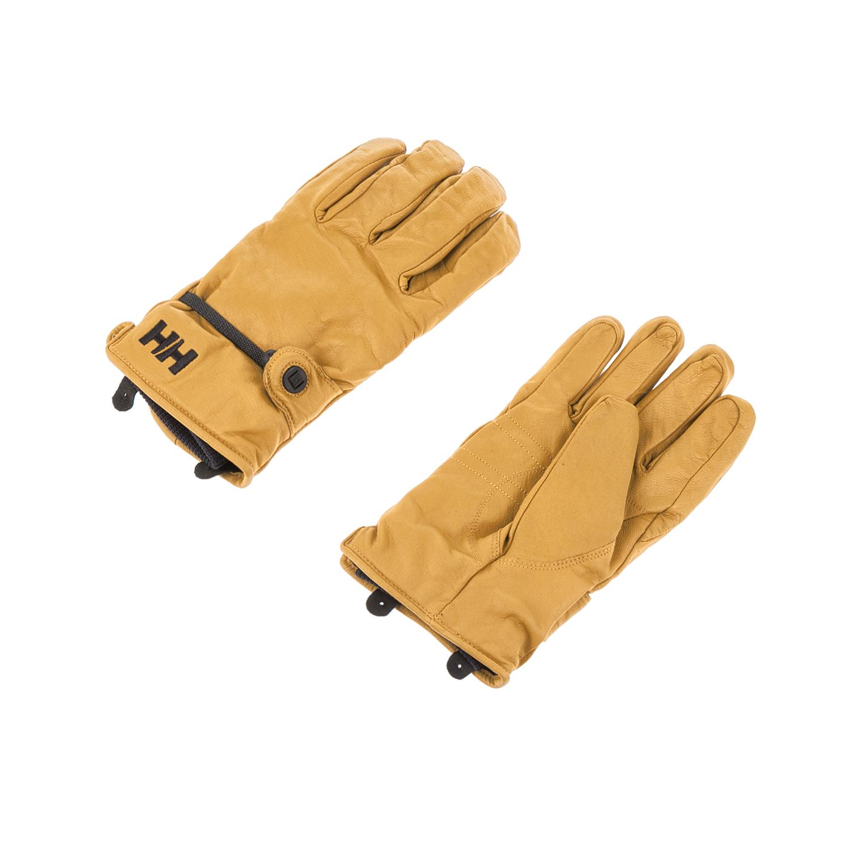 HELLY HANSEN - Γάντια VOR μουσταρδί γυναικεία αξεσουάρ φουλάρια κασκόλ γάντια