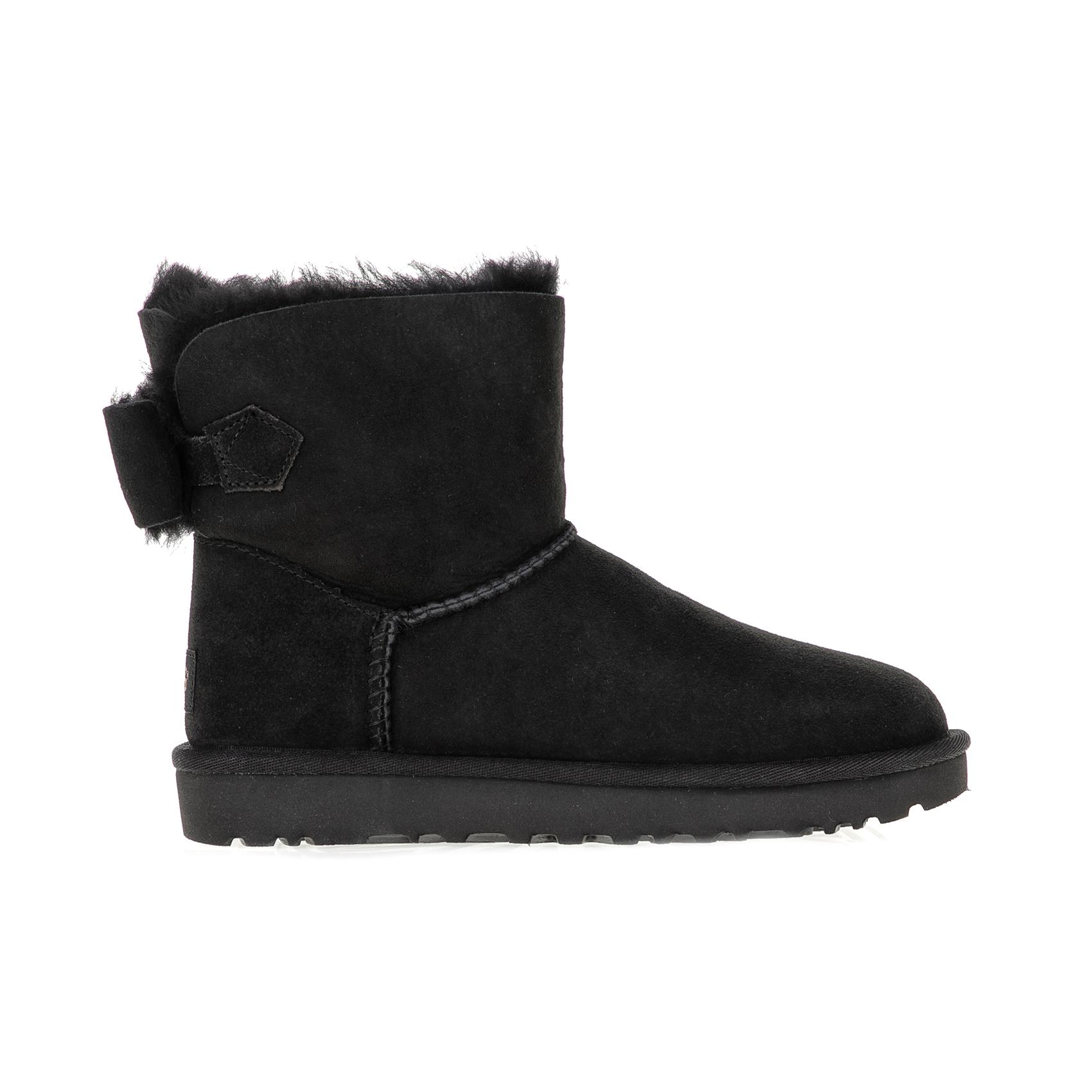UGG - Γυναικεία μποτάκια NAVEAH UGG AUSTRALIA μαύρα γυναικεία παπούτσια μπότες μποτάκια μποτάκια