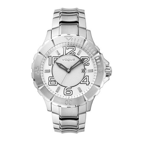 VOGUE-Γυναικείο ρολόι Vogue ασημί