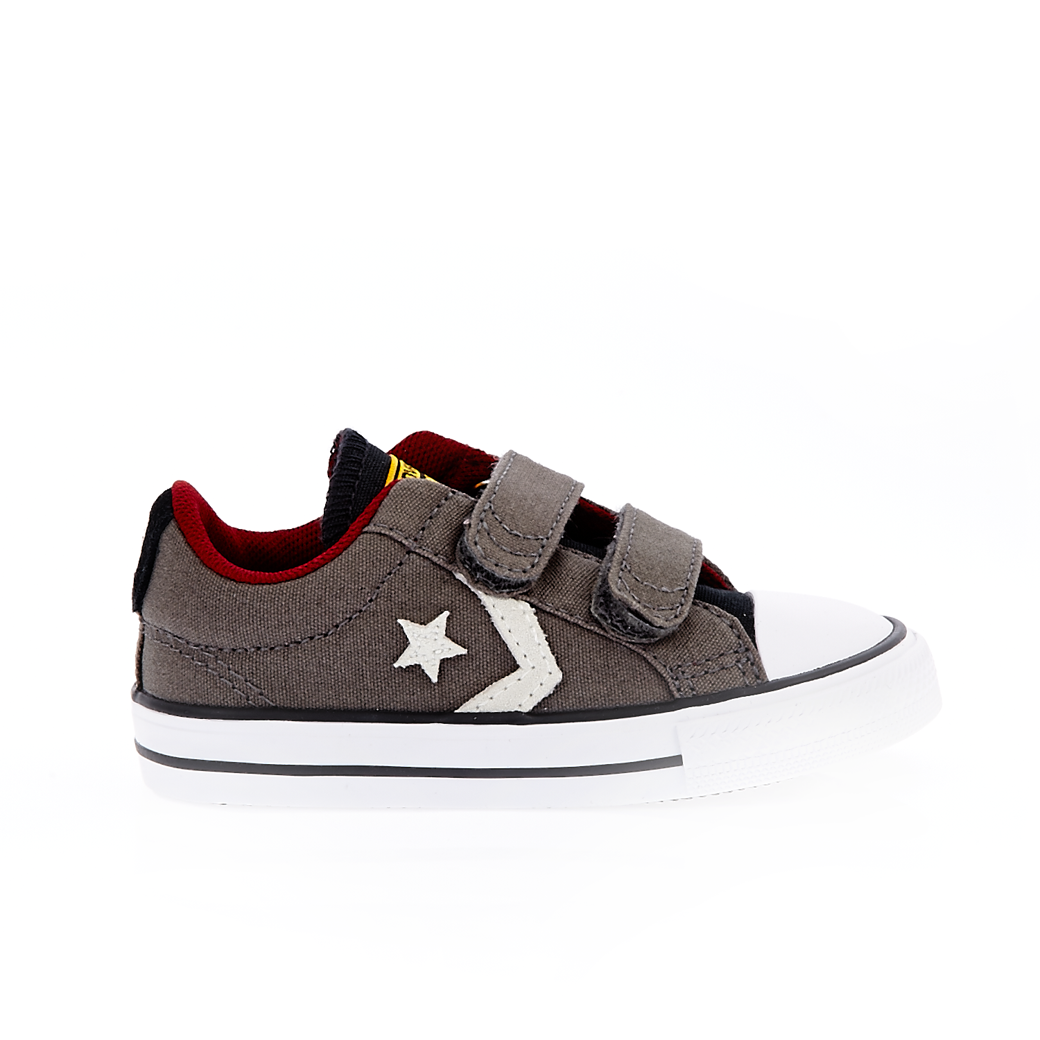 CONVERSE - Βρεφικά παπούτσια STAR PLAYER 2V OX καφέ παιδικά baby παπούτσια sneakers