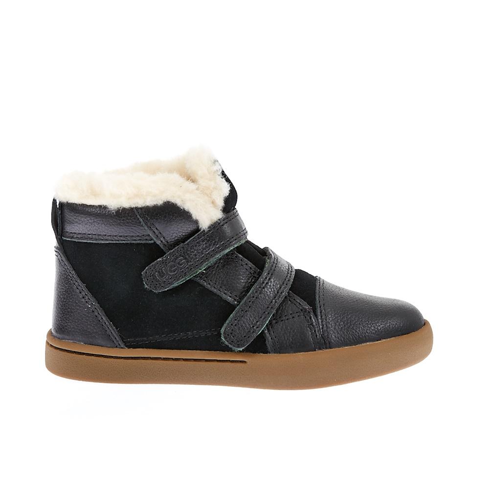 UGG – Βρεφικά παπούτσια UGG μαύρα