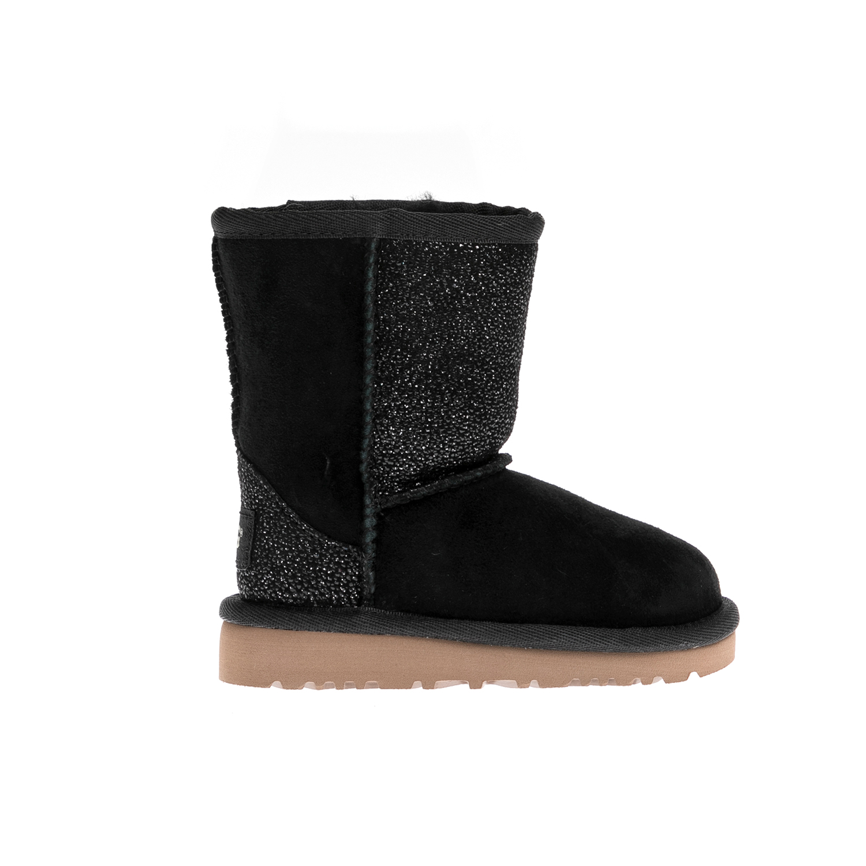 UGG - Βρεφικά μποτάκια Ugg Australia μαύρα παιδικά baby παπούτσια μπότες μποτάκια
