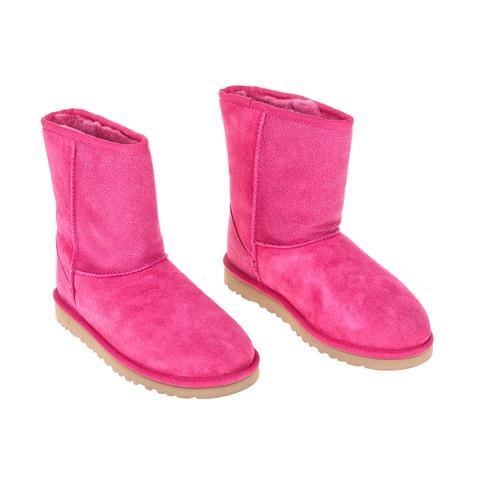 UGG-Παιδικά μποτάκια K CLASSIC SHORT SEREIN φούξια