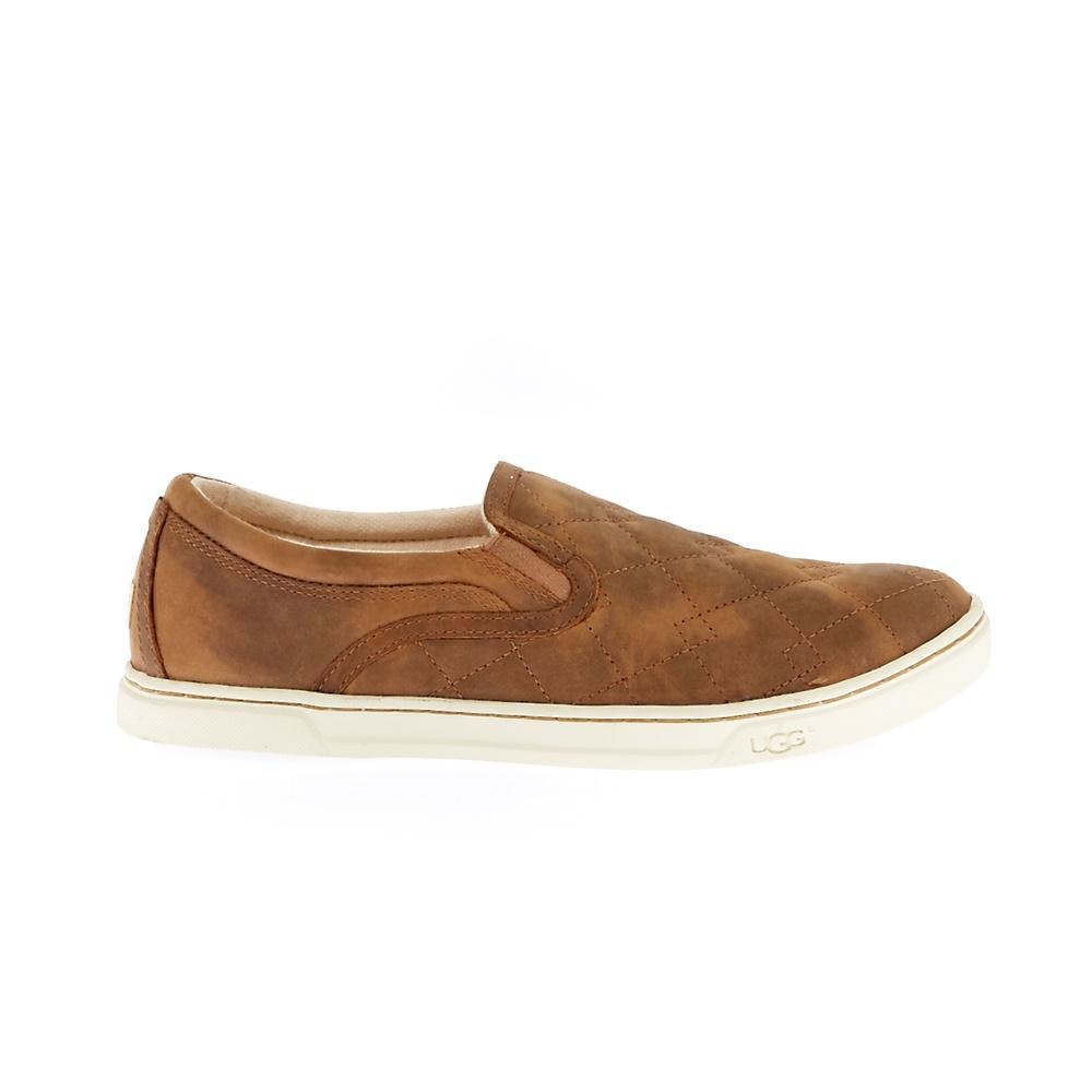 UGG - Γυναικεία slip-on παπούτσια UGG καφέ