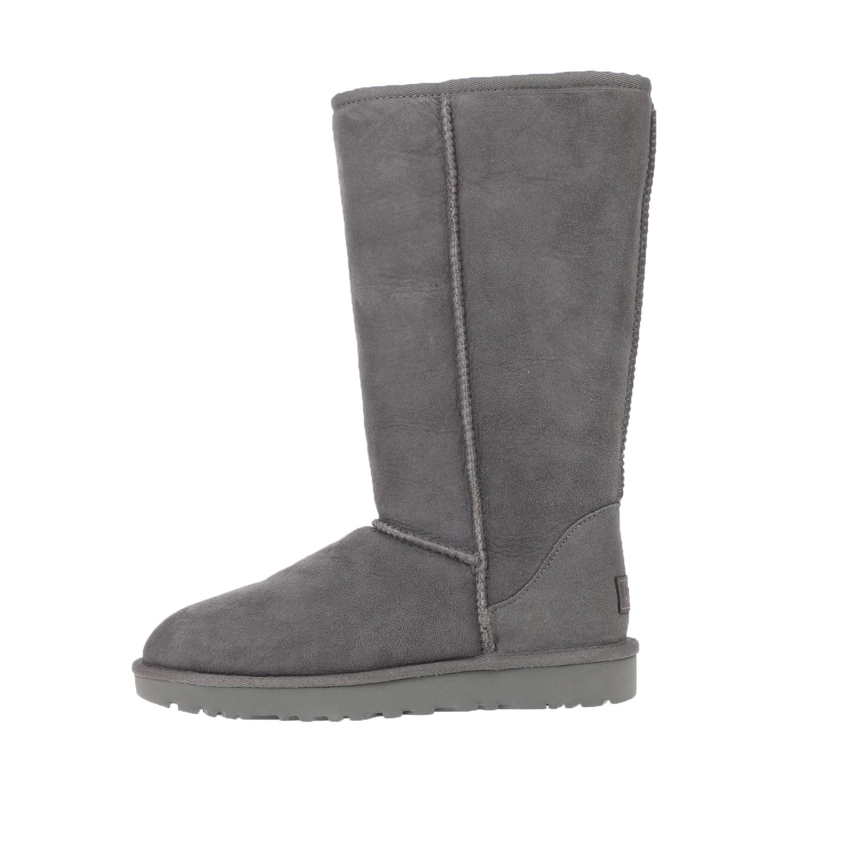 UGG – Γυναικείες μπότες UGG W CLASSIC TALL 1.5 γκρι-καφέ
