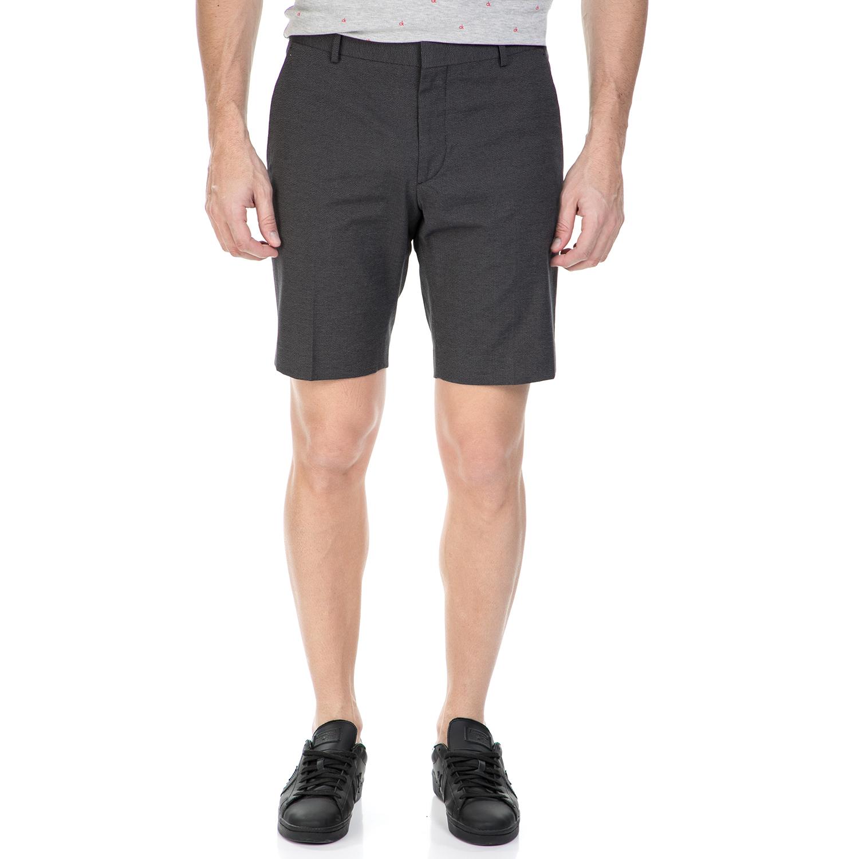 CK - Ανδρική βερμούδα CK PABLO σκούρο γκρι ανδρικά ρούχα σορτς βερμούδες casual jean