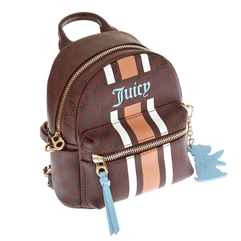 JUICY COUTURE - Γυναικεία τσάντα Juicy Couture καφέ ⋆ pressmedoll.gr 10163d2d2a9