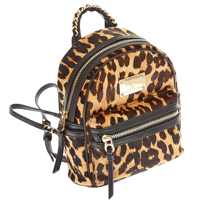 abe1f6670c JUICY COUTURE - Γυναικεία τσάντα Juicy Couture μαύρη-καφέ