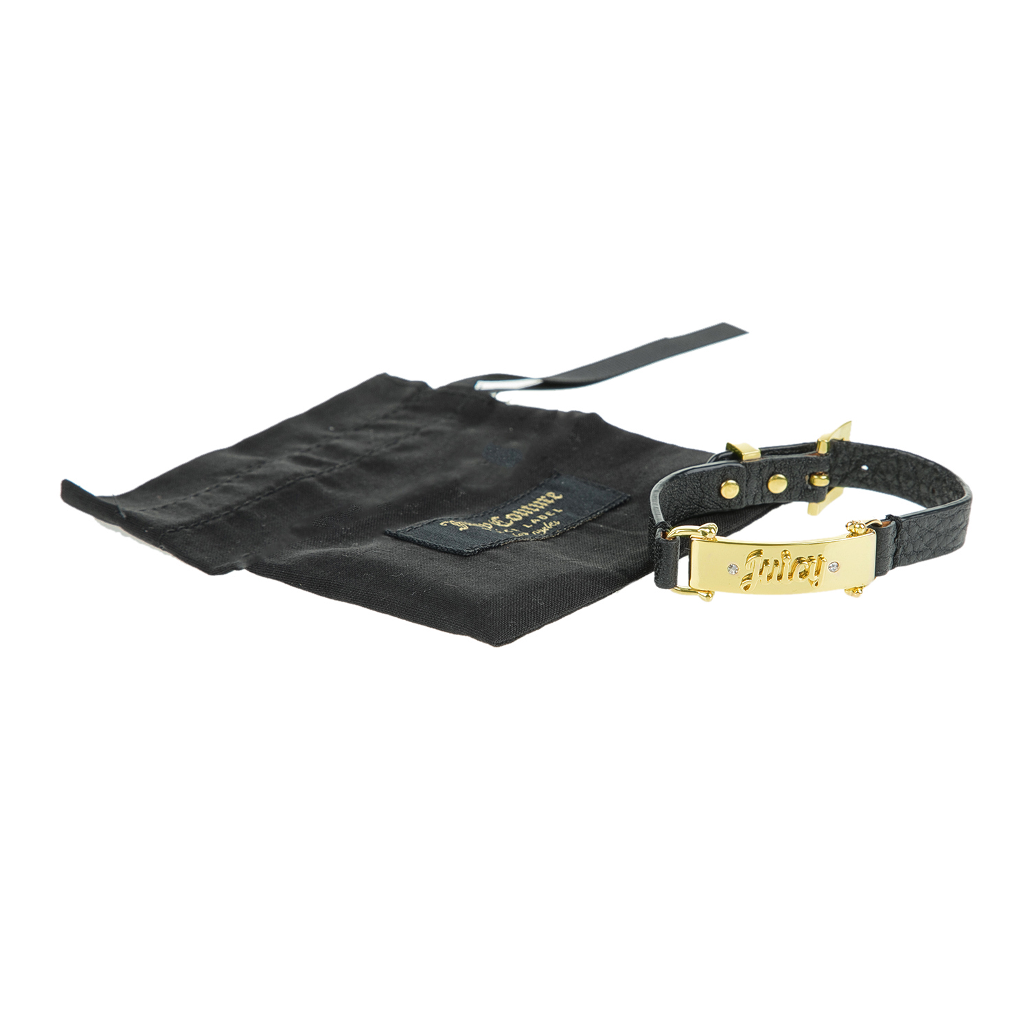 fa5cd85ff2 JUICY COUTURE - Γυναικείο Βραχιόλι JUICY COUTURE BAR LEATHER ...