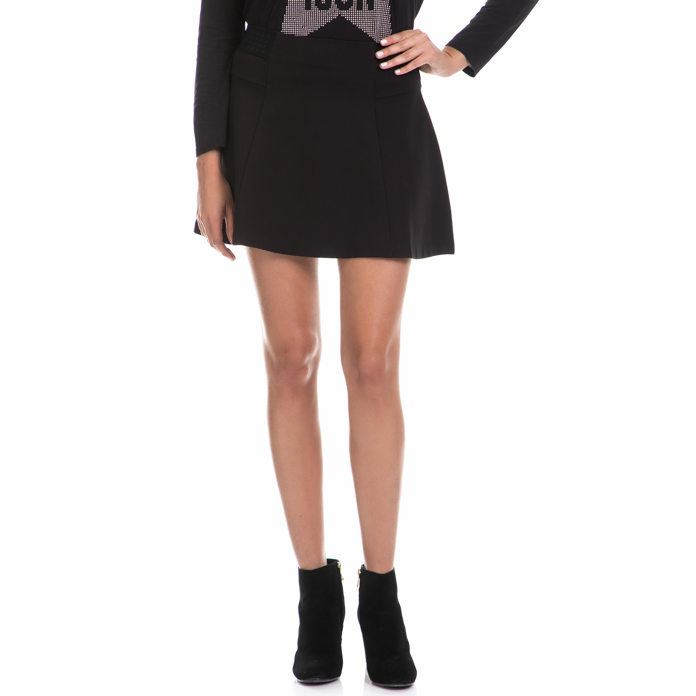 JUICY COUTURE - Γυναικεία φούστα KNT PONTE FLIRTY μαύρη