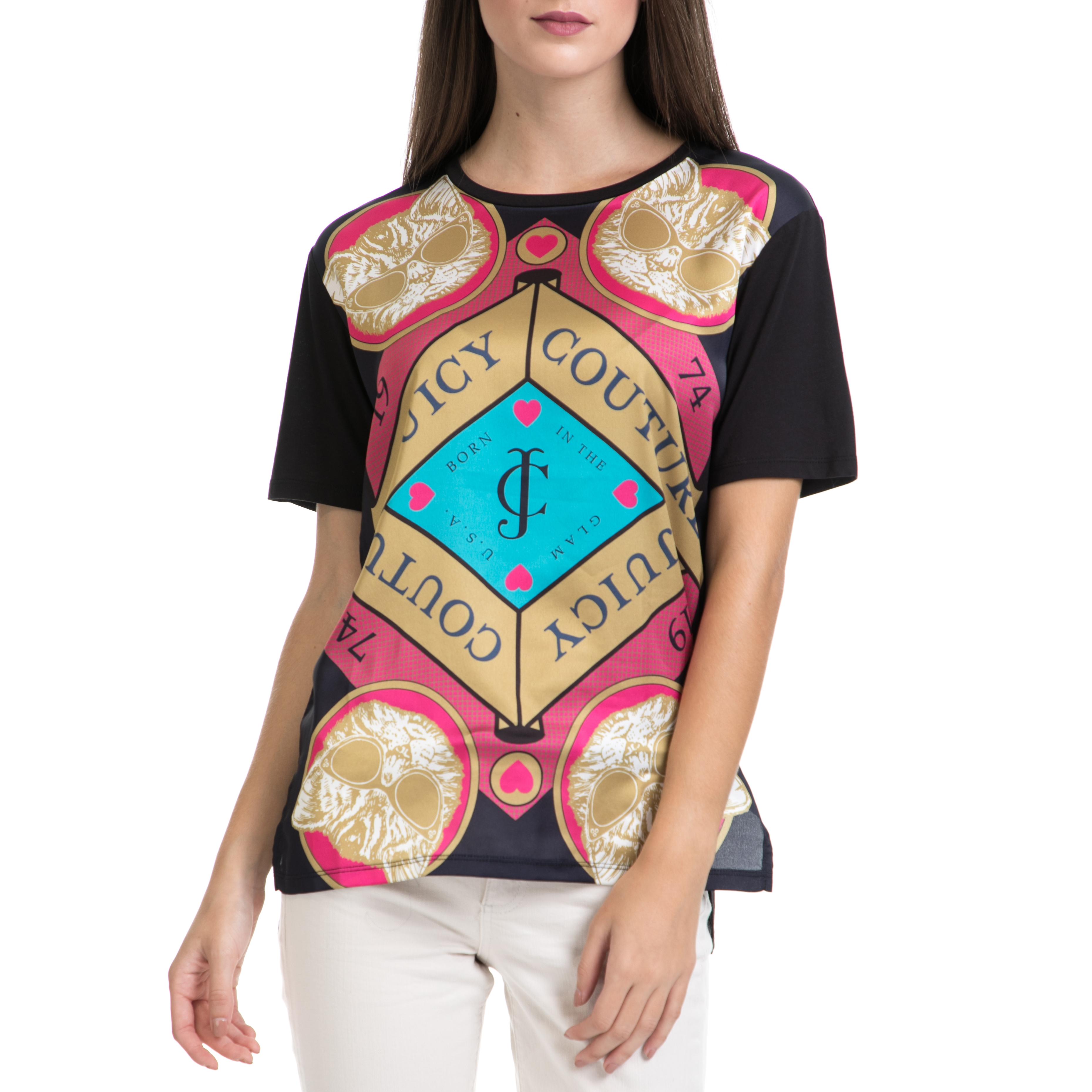 JUICY COUTURE - Γυναικεία μπλούζα JUICY COUTURE εμπριμέ