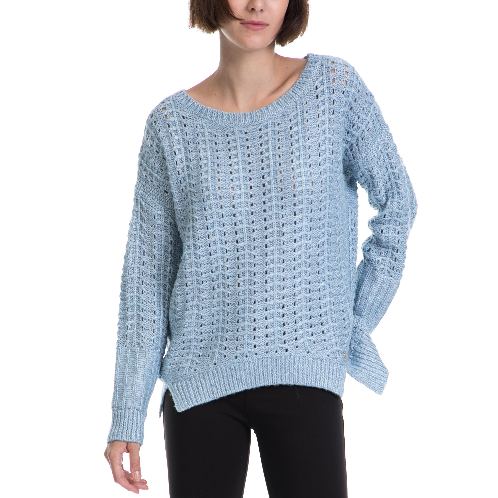 c221c07fddf6 JUICY COUTURE – Γυναικείο πουλόβερ JUICY COUTURE μπλε