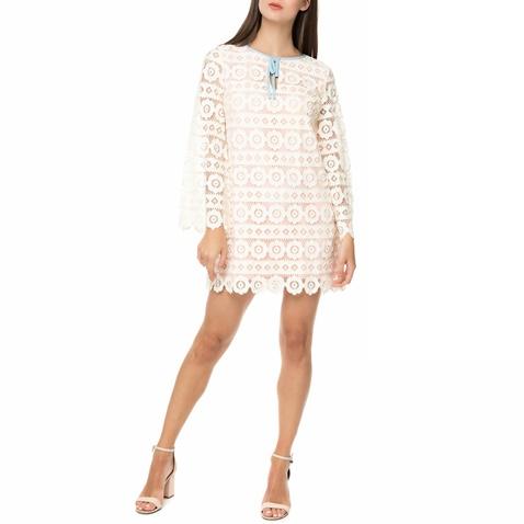 7ee6efb323cf Γυναικείο μίνι φόρεμα από δαντέλα JUICY COUTURE SWEDISH FLORAL λευκό  (1475091.0-0506)
