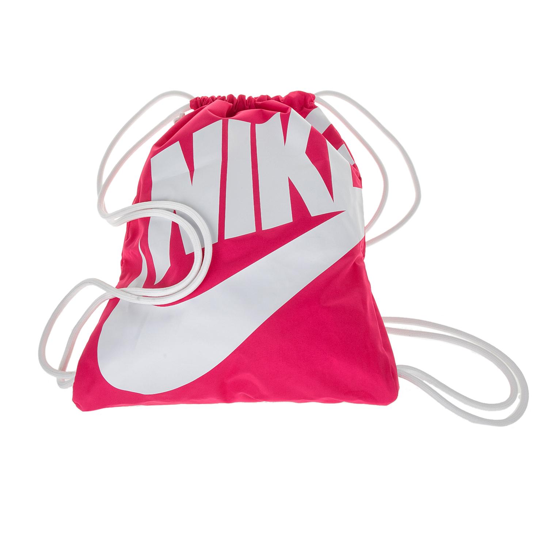 NIKE - Unisex σακίδιο γυμναστηρίου NIKE HERITAGE ροζ γυναικεία αξεσουάρ τσάντες σακίδια αθλητικές