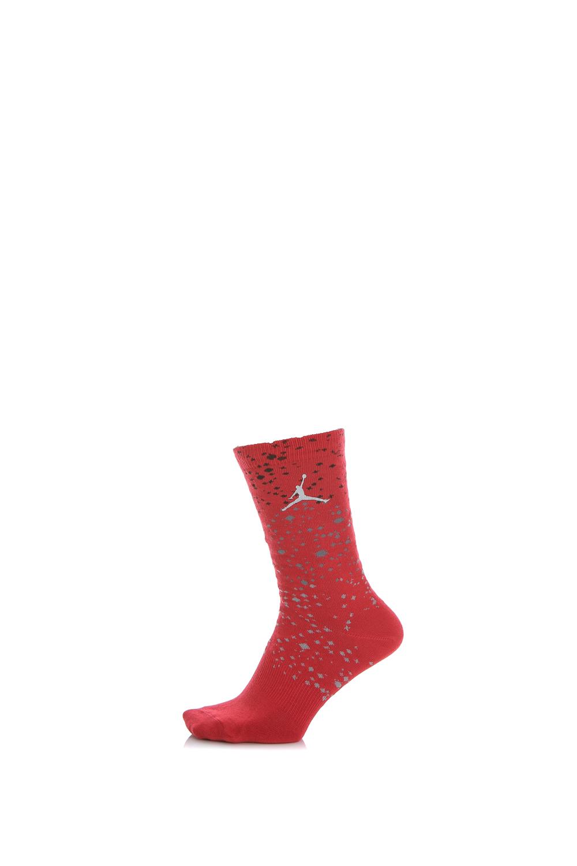 NIKE - Unisex αθλητικές κάλτσες Nike SPECKLE CREW κόκκινες γυναικεία αξεσουάρ κάλτσες