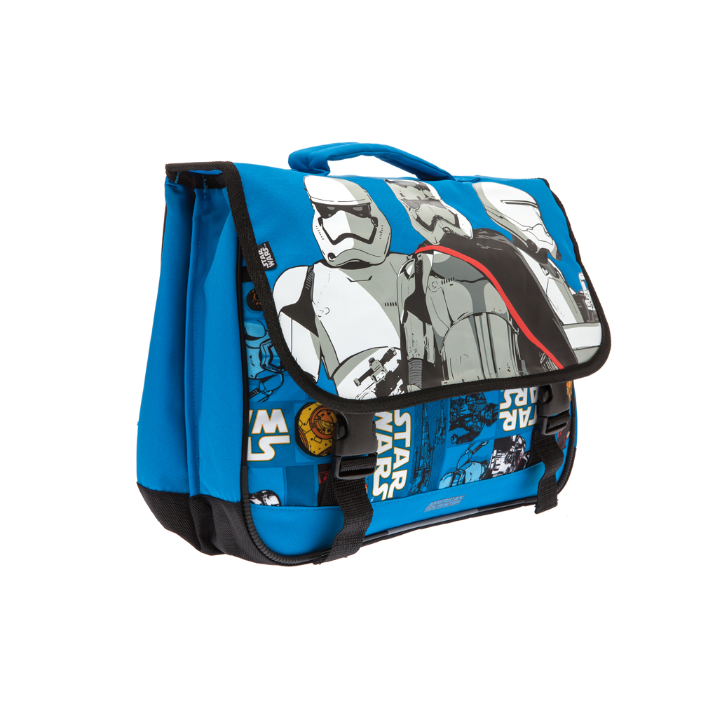 AMERICAN TOURISTER - Τσάντα πλάτης STAR WARS Disney by AMERICAN TOURISTER μπλε παιδικά boys αξεσουάρ τσάντες σακίδια