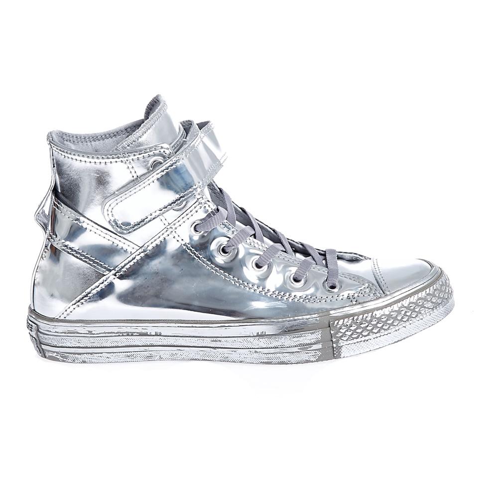 CONVERSE – Γυναικεία παπούτσια CT AS BREA HI ασημί απόχρωση