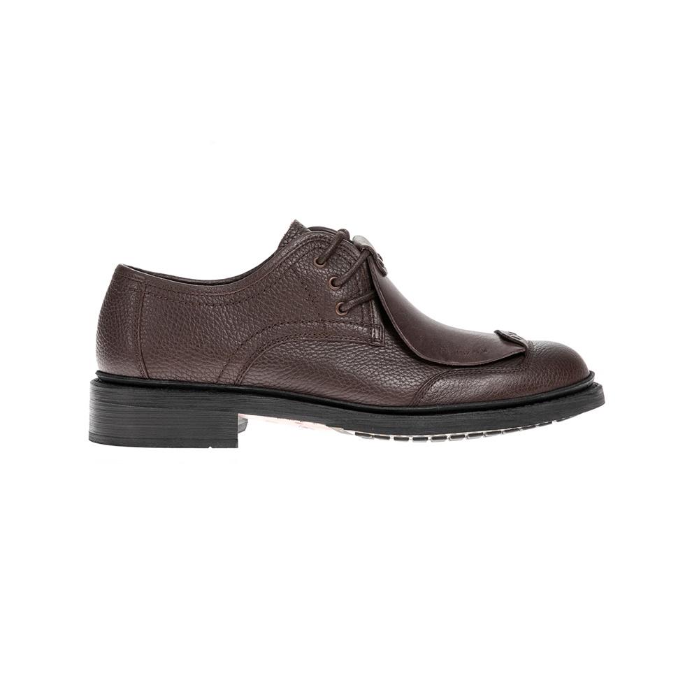 G-STAR RAW - Ανδρικά δετά παπούτσια G-STAR RAW καφέ ανδρικά παπούτσια δετά επίσημα