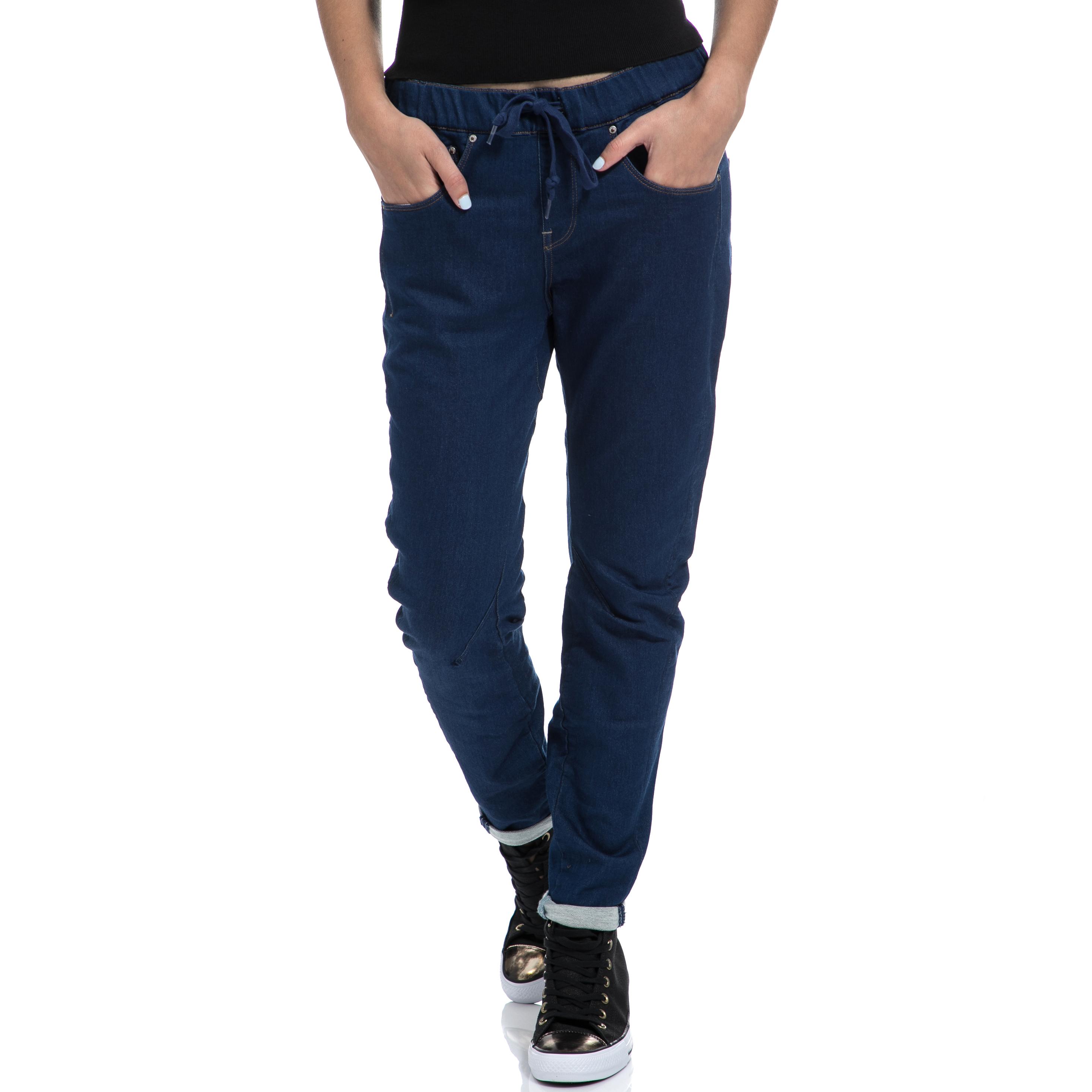 G-STAR RAW - Γυναικείο παντελόνι G-STAR RAW μπλε γυναικεία ρούχα τζίν boyfriend