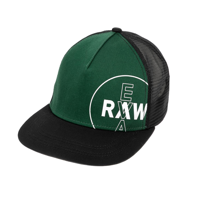 G-STAR RAW - Γυναικείο καπέλο G-STAR RAW μαύρο-πράσινο γυναικεία αξεσουάρ καπέλα αθλητικά