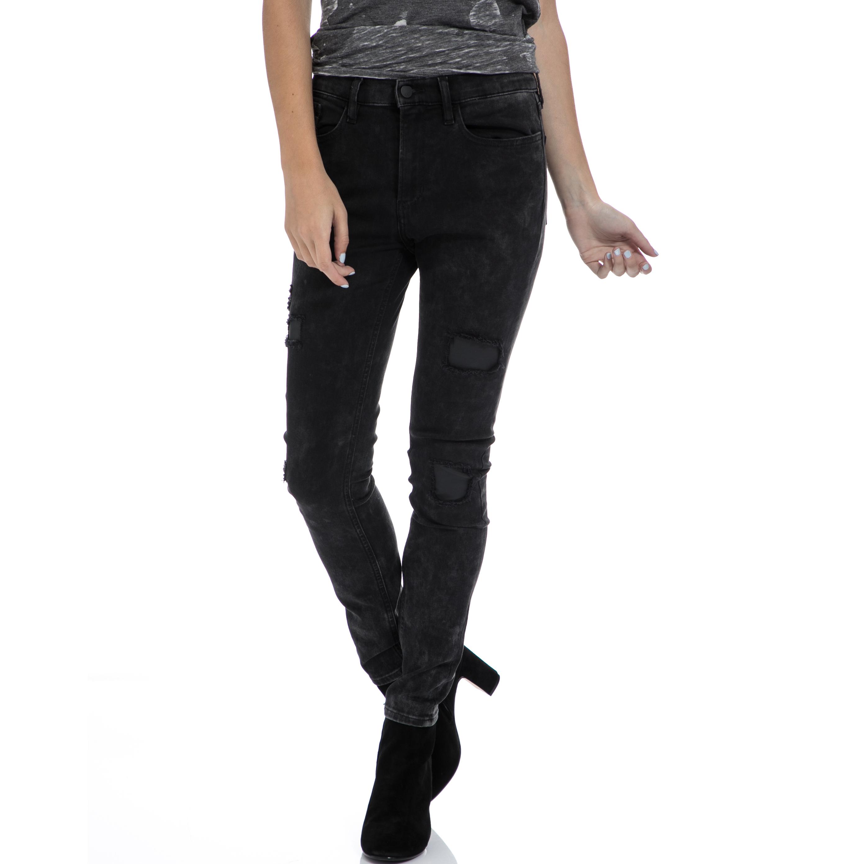 2daf25b57b CALVIN KLEIN JEANS – Γυναικείο τζιν παντελόνι CALVIN KLEIN JEANS μαύρο