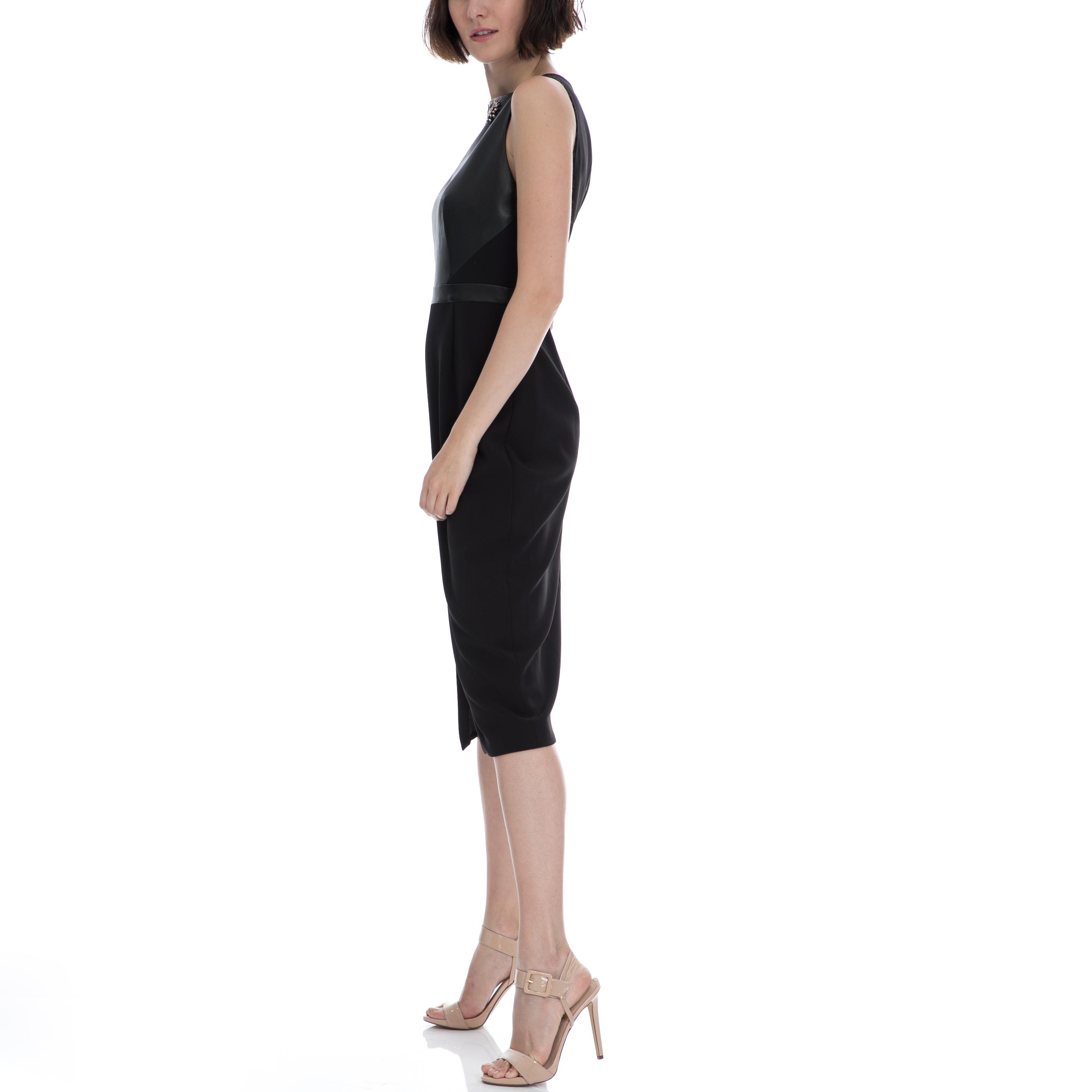 TED BAKER - Μίντι φορεμα TED BAKER KIMLA μαύρο 5a414da5cb6