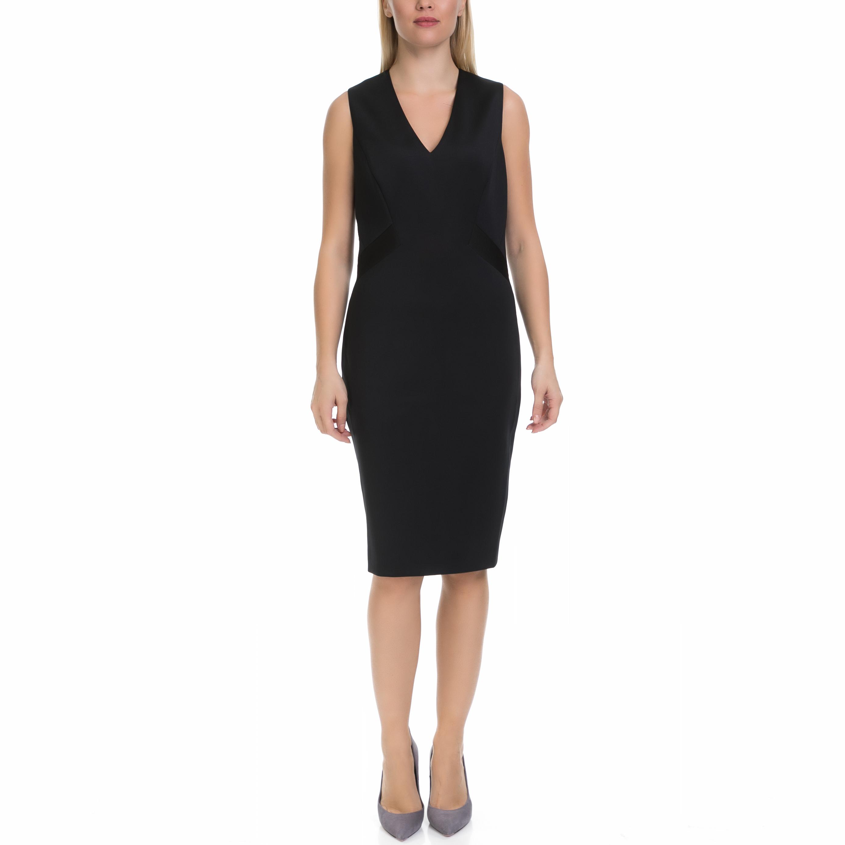 TED BAKER - Γυναικείο φόρεμα AALEYAD TED BAKER μαύρο 129f7665e47